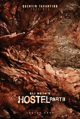 HOSTEL 2 Original Movie Poster - Horror Flesh  27x40 Double Sided ~ Eli Roth