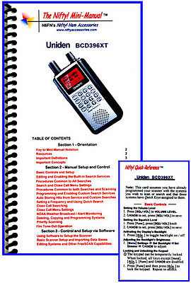 Uniden Bcd396xt Nifty Programming And Operating Guide