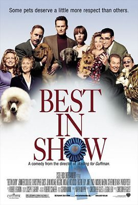 Best in Show Movie Poster 27 x 40 D/S Fred Willard Eugene Levy Jane Lynch