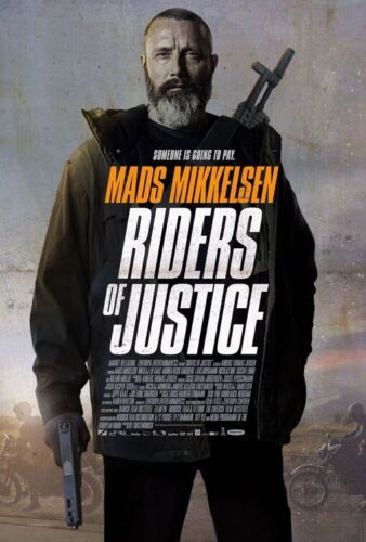 Riders Of Justice Mads Mikkelsen DS 27x40 Movie Poster