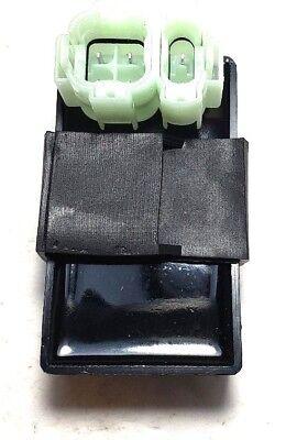 SCOOTER AC CDI BOX 6 PIN 2 PLUG FOR GY6 50 80 125 150CC ATV GO KART MOPED - Atv Cdi Box