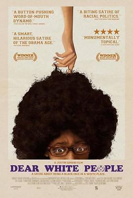 Dear White People  13 5 X20  Original Promo Movie Poster 2014 Mint Rare