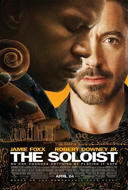 "THE SOLOIST ""B"" 27x40 ORIGINAL D/S MOVIE POSTER"