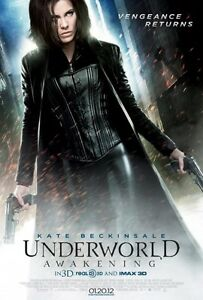 Underworld  : Awakening (3D and Imax)  Double Sided Original Movie Poster 27x40