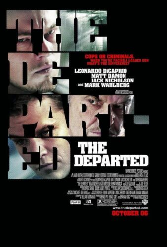 The Departed Motion Picture Screenplay
