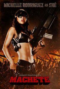 Machete - Michelle Rodriguez Movie Poster