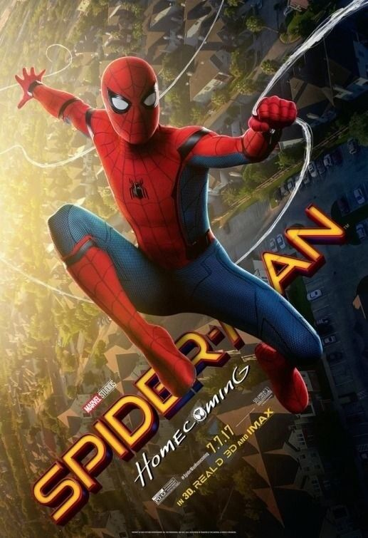 Spider-man Homecoming Movie Poster 1 Sided Original Version B 27x40 Tom Holland