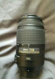 Boxed niton 55-300mm lens used once