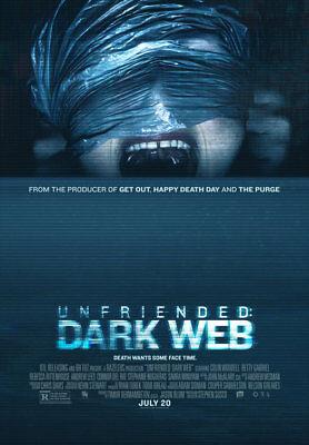 Unfriended Dark Web   Original Ds Movie Poster   D S 27X40