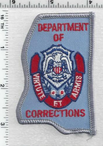 Department of Corrections (Mississippi) 2nd Issue Cap/Hat Patch