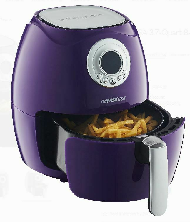 GoWISE USA 3.7-Quart 8-in-1 Electric Programmable Air Fryer