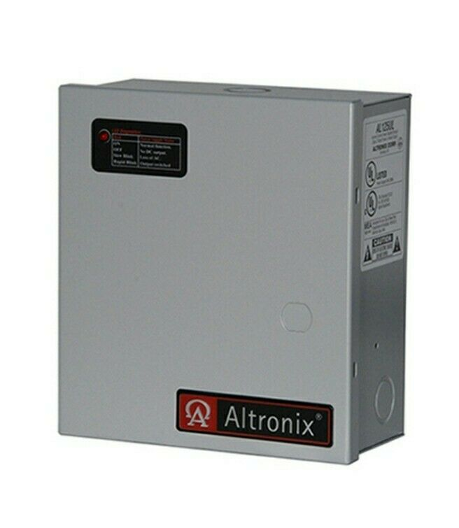 ALTRONIX AL125UL Power Supply 2 Out 12VDC Or 24VDC @ 1A