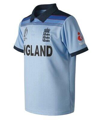 NWT England Cricket Team ODI T20 Jersey T-shirt MLXL 2019 World Cup (Odi Cricket)