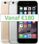 Refurbished iPhone 6 16GB of 64GB met 1 jaar garantie