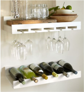 Holman Wine Rack and Wine Shelf from Pottery Barn