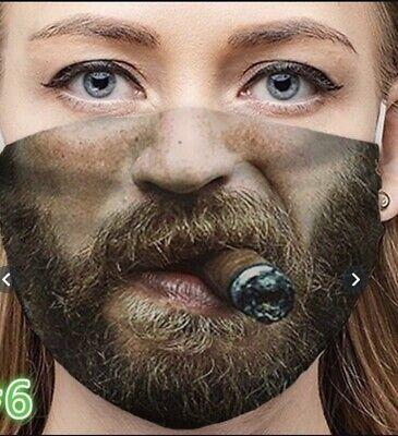 Mund-Nasenschutz Maske Raucher-Smoker-Almadkh-Kuril'shchik-Sigara içen-Fumatore