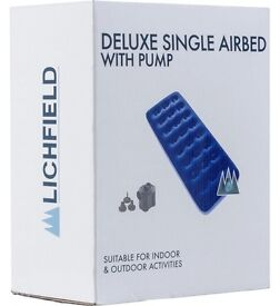 Lichfield Deluxe Single Air Bed
