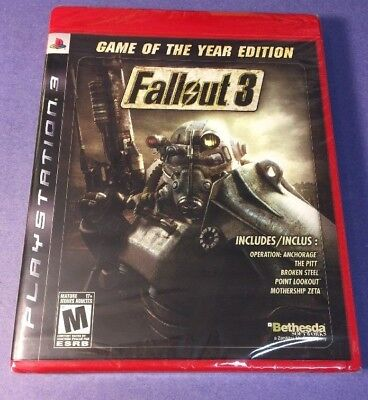 Used, Fallout 3 GOTY [ Game of the Year Edition ] (PS3) NEW for sale  Shipping to Nigeria