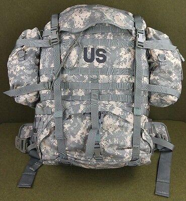 US Military MOLLE II Large ACU Rucksack Field Pack Backpack