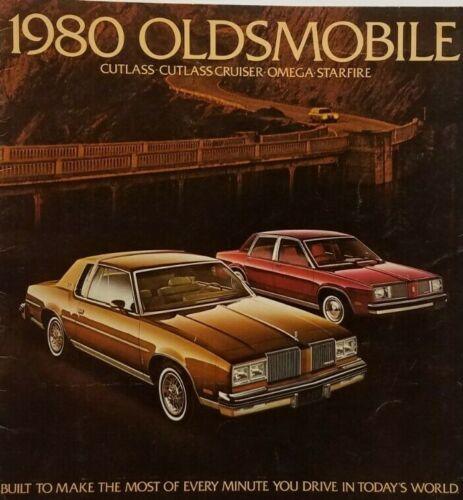 1980 Oldsmobile Car Sales Brochure Dealership Advertisement Catalog