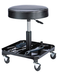 New in Box Pneumatic Roller seat Shop stool