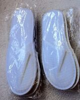 New! Men's and Women's White Spa Sandals Slippers