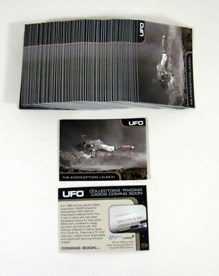 Lot of (100) 2004 Cards Inc UFO Promo Card (P4) The Interceptors Launch Nm/Mt for sale  Rochester