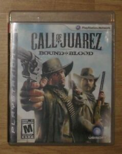 Call of Juarez: Bound In Blood  ( PS3 / PLAYSTATION 3 game )