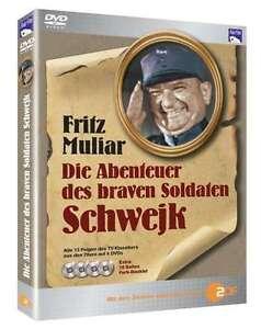 LA-ABENTEUER-DES-BRAVEN-SOLDADOS-SCHWEJK-Fritz-Muliar-4-Caja-de-DVD-Nuevo