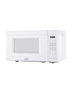 White Master Chef Microwave Oven