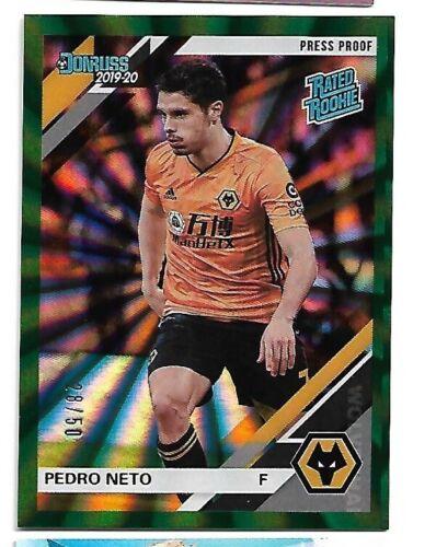 2019-20 Panini Prizm Premier League Brilliance #22 Pedro Chelsea FC
