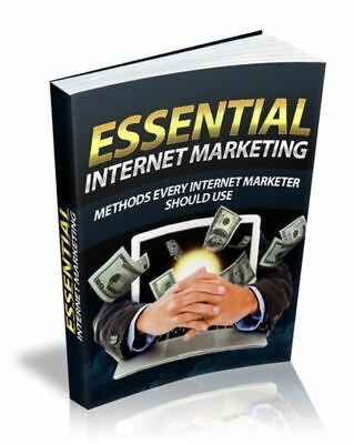 Essential Internet Marketing Ebook Pdf Cddvd Master Resell Rights Free Shipping
