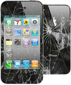 iPhone 4 4s 5 5C 5S 6 6S 7 8 broken cracked screen LCD repair ★