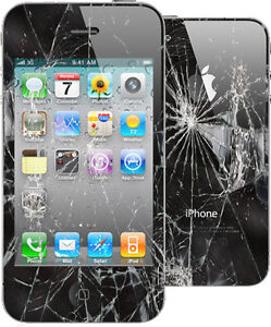 iPhone 4 4s 5 5C 5S 6 6S broken cracked screen LCD repair $39★