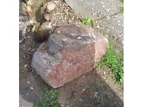 Big Decorative Garden Stone