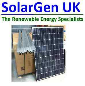 Solarworld 1kw Solar PV System Complete Kit 250W Black panels x 4 MCS Approved
