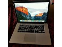 """Macbook Pro immaculate condition late 2013 retina 15"""" display laptop"""
