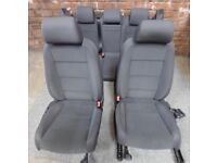 VW MK5 Golf front and rear seats