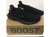 Yeezy Boost 350 BRED ALL SIZES