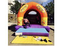 Bouncy castle popcorn & candy floss machine hire in London