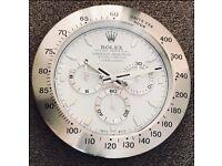 Rolex wall clocks, Tel 07884-015528, Top Quality