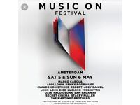 Music On Weekend Ticket