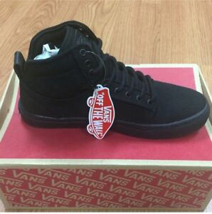 DS New with Box Vans Alomar Black High Tops