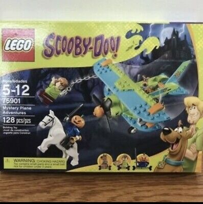 LEGO SCOOBY DOO #75901 MYSTERY PLANE ADVENTURES! FACTORY SEALED! RETIRED! VHTF