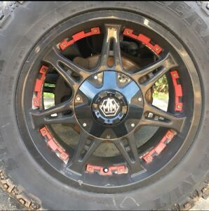 "20"" Mayhem missile rims"