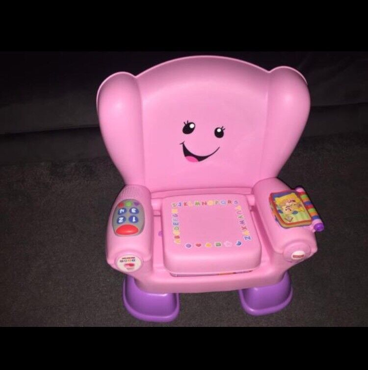 Fisher-Price Laugh & Learn Smart Stages Chair - Pink