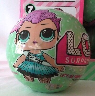 Authentic SERIES 2 Wave 2 LOL Surprise DOLL 7 Layers L.O.L Big Sisters 1 BALL