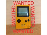 Game boy wanted gameboy games all models