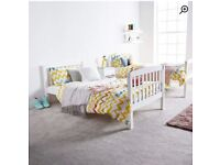 Single Bunk beds ( White)
