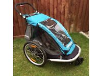 Daily /weekly rental croozer for 1 bike trailer/jogger/stroller